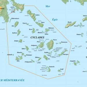 Cyclades carte