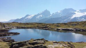 Le lac Lérié, plateau d'Emparis